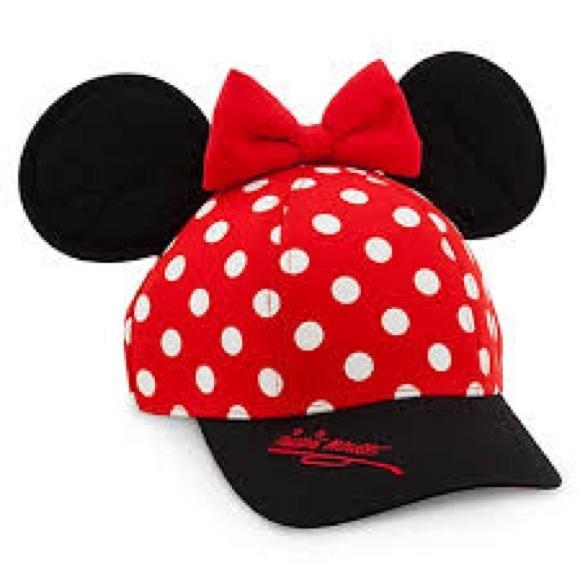5519b0e21e8 Disney Accessories - Disneyland Minnie Mouse Baseball Cap